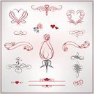 Calligraphy,Heart Shape,Wedding,Heart Suit,Vignette,Gray,Frame,Decoration,Set,Vector,Bird,Red,Swirl,Retro Revival,Ribbon,Rose - Flower,Flower,Arrow,Design Element,Invitation,Greeting Card,Ornate,Valentine's Day - Holiday,Floral Pattern,Classic,Valentine Card,Elegance,Pattern,Certificate,Greeting,Document,Valentine's Day,Ilustration,Holidays And Celebrations,Label,Holiday,Design,Arts Symbols,Arts And Entertainment,Celebration,Style,Writing