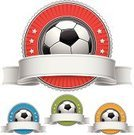 Soccer,Sign,Shield,Sport,Banner,Soccer Ball,Badge,Insignia,Ribbon,Award Ribbon,Frame,Red,Symbol,Label,Vector,Silver - Metal,Silver Colored,Ilustration,Isolated,Green Color,Digitally Generated Image,Design Element,Scroll Shape,Swirl,Yellow,Illustrations And Vector Art,Copy Space,Blank,Computer Graphic,Blue