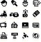 Computer Icon,Journalist,Television Camera,Journalism,Icon Set,Article,TV Reporter,Typewriter,Newscaster,Vitality,Broadcasting,Insurance,Multimedia,Radio,Newspaper,Microphone,Television Broadcasting,Television Set,Internet,The Media,Camera - Photographic Equipment,Interview,Mini Van,Paparazzi Photographer,Dictaphone,Writing,Satellite Dish,Author,Report,Anchor,Hat,Set,Covering,Vector Icons,Photography,Illustrations And Vector Art,Note Pad,News Van,typing machine,Ilustration,SLR Camera,Scientific Experiment,Globe - Man Made Object,Vector,Speech,Beard,Collection