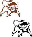 American Bison,African Buffalo,Bull - Animal,Water Buffalo,Ox,European Bison,Furious,Spain,Symbol,Anger,Ilustration,Vector,Black Color,Tattoo,Mascot,Bullfight,Silhouette,Wild Animals,Protection,Horned,Animals And Pets,Strength,Tail,Cattle,Cow,Cartoon,Isolated,Animal,Aggression,Vector Cartoons,Danger,Power,Warning Sign,Illustrations And Vector Art,Farm,Persistence,Animals In The Wild