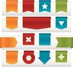 Ribbon,Internet,Banner,Placard,Interface Icons,Badge,Design Element,Label,Push Button,Symbol,Computer Icon,Direction,Red,Award,Vector,Icon Set,Vector Icons,Illustrations And Vector Art,Web Element,Green Color,Pointer Stick,Blue,Concepts And Ideas