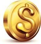 Coin,Gold,Gold Colored,Dollar Sign,Dollar,Currency,Currency Symbol,Ilustration,Bling Bling,Digitally Generated Image,US Currency,Dollar Sign Key,Three-dimensional Shape,Isolated,Symbol,Metallic,Shape,Isolated On White,Reflection,Vector,No People,Shiny,Single Object,Finance,White Background,$,Metal,eps8,Eps10