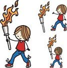 Olympic Torch,Cartoon,Characters,2012 Summer Olympics - London,Line Art,Ilustration,Little Boys,Teenager,Jogging,Drawing - Art Product,Flag Bearer,Child,Next To,Looking,Running,Humor,The Olympic Games,Standing,White Background,Vector,Teenage Boys,Looking At View,Close To,One Person,People,Illustrations And Vector Art,Men,hand drawn,Flame,Equipment,Carrying,Smiling,Excitement,Happiness,Cheerful,Event,Isolated On White,Holding,Young Adult,Male,Sports And Fitness,Single Object,Doodle,Cute,Baseball Shoe,no background