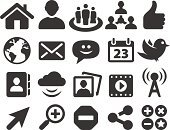 Symbol,Computer Icon,Icon Set,Facebook,Internet,Magnifying Glass,House,E-Mail,Communication,Black And White,Connection,Sparse,Web Page,Global Communications,Thumbs Up,Searching,Computer Network,Bird,Mail,Blog,Chat Room,Discussion,Togetherness,Tumblr,Search Engine,Social Networking,Sphere,Envelope,Cloud Computing,Google Plus,Human Hand,Star Shape,Reddit,Correspondence,Internet Dating,Streaming Media Service,Twitpic,Downloading