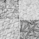 Pattern,Doodle,Wave,Seamless,Single Line,Striped,Wave Pattern,Sea,Textured,Backgrounds,River,Abstract,Organization,Floral Pattern,Eternity,Leaf,Painted Image,Repetition,Wallpaper Pattern,Design,Computer Graphic,Digitally Generated Image,Decoration,Vector,Illustrations And Vector Art,Vector Backgrounds,Vector Ornaments,Backdrop