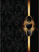 Shield,Heart Shape,Floral Pattern,Frame,Ornate,Symbol,Curve,Vector,Shadow,Vertical,Black Color,Shape,Art,Backgrounds,Arts Symbols,Arts And Entertainment,Style,Design,Decoration,Ilustration,Gold Colored,Curled Up,Vector Backgrounds,Backdrop,Leaf,Arts Backgrounds,Illustrations And Vector Art,Decor,Staring