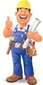 Construction Worker,Cartoon,Construction Industry,People,Men,Cheerful,Roofer,Happiness,Engineer,Construction Site,Building - Activity,Carpenter,Mechanic,Thumbs Up,Building Contractor,Humor,Manual Worker,Architect,Repairman,Tool Belt,Occupation,Bricklayer,Built Structure,Work Helmet,Work Tool,Ilustration,Working,Blueprint,Hammer,Foreman,Plan,Holding,Industry,Planning,Roof Thatcher,Full Length,Expertise,Blue,Adjustable Wrench,Isolated On White,Male,Standing,OK,Cute,Coveralls,Laughing
