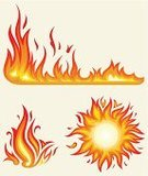 Flame,Sun,Sunlight,Heat - Temperature,Computer Graphic,Burning,Fire - Natural Phenomenon,Sunbeam,Orange - California,Fuel and Power Generation,Summer,Vector,Vector Icons,Hell,Computer Icon,Shiny,Nature,Isolated Objects,Nature Symbols/Metaphors,Igniting,Yellow,Red,Set,Weather,Illustrations And Vector Art,Art,Isolated-Background Objects,Symbol,Ilustration