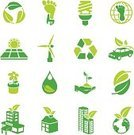 Alternative Energy,Computer Icon,Environmental Conservation,Icon Set,Green Color,Solar Panel,Energy Efficiency,Carbon Footprint,Business,Earth,Recycling Symbol,Globe - Man Made Object,Leaf,Vector,Environment,Recycling,Hotel,House,Water,Sun,Car,Light Bulb,Ilustration,Nature,Plant,Factory,Office Building,Wind Turbine,Single Flower,Isolated,Flower,Isolated On White,Set