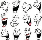 Laughing,Human Face,Cartoon,Human Mouth,Smiling,Humor,Human Eye,Cheerful,Happiness,Emoticon,Symbol,People,Vector,Women,Ilustration,Men,Excitement,Caricature,Characters,Facial Expression,Isolated,Backgrounds,Emotion,Set,Satisfaction,Feelings And Emotions,Joy,Illustrations And Vector Art,Vector Cartoons,Sneering,Concepts And Ideas,Toothy Smile,People