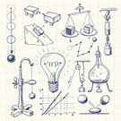Science,Doodle,Physics,Engineering,Light Bulb,Sketch,Education,Drawing - Art Product,Technology,Drawing - Activity,Ilustration,Sphere,Weight Scale,Scribble,Pulley,Ball,Block And Tackle,Action,Vector,Bouncing,Graph,Flask,Ink,Gravitational Field,Power,Physical Pressure,Speed,Hand-drawn,eps8,Motion,Freefall,Blue