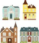 House,Victorian Architecture,Home Interior,Building Exterior,Built Structure,Colonial Style,Residential Structure,Mansion,Village,Old-fashioned,Vector,Window,Luxury,Ornate,Elegance,Community,Town,Ilustration,Homes,Classic,Architecture And Buildings,Architecture,Residential District,Tree,Illustrations And Vector Art,Antique