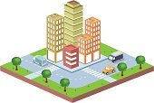 Isometric,Built Structure,Residential District,Urban Scene,City,District,Street,Office Buildings,Homes,Architecture And Buildings,Architecture,Vector,Skyscraper,House