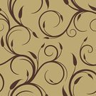 Seamless,Swirl,Backgrounds,Pattern,Floral Pattern,Elegance,Brown,Square,Spiral,Vector Florals,Vector Ornaments,Wallpaper Pattern,Vector Backgrounds,Illustrations And Vector Art,Ornate,Leaf,Vector