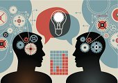 Innovation,Solution,Human Brain,Gear,Business,Teamwork,Ideas,Equipment,Light Bulb,Human Head,Abstract,Discovery,People,Industry,Communication,Ilustration,Power,Creativity,Working,Technology,Machinery,Progress,Group of Objects,Backgrounds,Concepts,Design,Energy,Vector,Profile View,Machine Part,Electric Lamp,Part Of,Weel,Turning,Glowing,Decoration,Illustrations And Vector Art,Business,Teamwork,Business Concepts,Vector Cartoons,Copy Space,Concepts And Ideas,Set