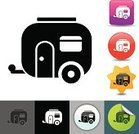 Mobile Home,Camping,Motor Home,Computer Icon,Symbol,Transportation,Ilustration,Tourism,Travel Destinations,Travel,Icon Set,Journey,People Traveling,Single Object,Travel Locations,Vacations,Transportation,Vector,Design Element,Adventure,Mode of Transport,Leisure Activity,Land Vehicle,Simplicity,Holidays,Isolated,Clip Art