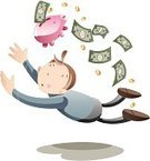 Piggy Bank,Home Finances,Paper Currency,Wealth,Currency,Dollar,Coin,Financial Crisis,Finance,Business,Catching,Concepts And Ideas,Business Symbols/Metaphors,Bringing Home The Bacon,Business Concepts,Frustration,Debt,Banking,Savings,Coin Bank