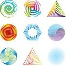 Sign,Triangle,Abstract,Design Element,Motion,Circle,Yin Yang Symbol,Symbol,Hexagon,Spiral,Computer Graphic,Sphere,Shape,Computer Icon,Icon Set,Digitally Generated Image,Futuristic,Colors,Vector,Rainbow,Pentagon,Ribbon,Multi Colored,Curve,Striped,Single Line,Modern,Design,Set,White Background,Spinning,Clip Art,Square Shape,Pink Color,No People,Ilustration,Drawing - Art Product,Square,Blue,Group of Objects,Green Color,Vibrant Color,Orange Color,Vector Icons,Isolated On White,graphic elements,Arts Abstract,Technology,Technology Abstract,Arts And Entertainment,Illustrations And Vector Art
