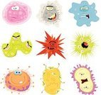 Virus,Computer Bug,Unhygienic,Bacterium,Cold And Flu,Cell,Flu Virus,Amoeba,Plant Cell,Insect,Human Cell,Animal Cell,Cartoon,Monster,Molecule,Characters,Molecular Structure,Cancer Cell,Micro Organism,Pharmacy,Alien,Animal,Cancer,Science,Healthcare And Medicine,Illness,Medicine,Vaccination,High-scale Magnification,Cruel,Fun,Humor,Magnification,Chemistry Class,Vector,Enzyme,Mite,Chemistry,Nature,Epidemic,Wildlife,HIV,Parasitic,Threats,Staphylococcus,Magnifying Glass,Research,Ilustration,AIDS,Nature,Danger,Unwell,Small,Toxic Substance,Unhealthy Eating,Poisonous Organism,Medicine And Science,Set,Dirty,Hygiene