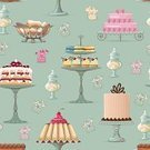 Cake,Bakery,Old-fashioned,Candy,Cupcake,Jar,Pattern,Pastry,Store,Dessert,Crockery,Food,Glass - Material,Pie,Chocolate,Multi Colored,Antique,Chocolate Candy,Old,Sweet Food,Seamless,Vector,Ilustration,Design,Bowl,Colors,Fruit,Backgrounds,Cookie,Eating,Cream,Blue,Repetition,Food Backgrounds,Food And Drink,Retail,Copying,Vector Backgrounds,Vase,Style,Group of Objects,Illustrations And Vector Art,Art,Swirl,Decoration,Holidays And Celebrations,Gourmet,Variation,Temptation,Ancient,Bakery Shop