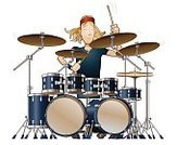 Drum,Drum Kit,Musical Instrument,Music,Musician,Painted Image,Equipment,Playing,Ilustration,Men,Music Festival,Leadership,Jazz,Popular Music Concert,Rock and Roll,Modern Rock,Folk Music,Indie Rock,Bass Drum,Catwalk - Stage,Role Model,Vector,Punk,Elegance,Performing Arts Event,Isolated,Illuminated,Clip Art,New,Arts And Entertainment,Cymbal,Music,Snare Drum,Young Adult,Entertainment,Sound,Cute,Stage Light,Exploration,People,Long Hair,Tom Tom,One Person,Low Angle View,Success,Percussion Instrument,Horizontal,Cool,Modern,Concepts And Ideas,Isolated On White,Drumstick