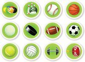 Ball,Golf,Hockey Puck,Sport,Hobbies,Rugby,Decoration,Volleyball,Tennis,Illustrations And Vector Art,Vector,Soccer,Ilustration,Skittles,Vector Icons,Actions,Football,Baseballs,Basketball,Set,Action,Agility,Fun,Bowling,Skill,Sphere,Sports Symbols/Metaphors,Sports And Fitness,Ice Hockey,Pool Game,Label