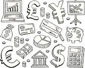 Currency,Drawing - Art Product,Doodle,Sketch,Symbol,Ilustration,Pencil Drawing,Icon Set,Finance,Dollar Sign,Piggy Bank,Currency Symbol,Laptop,Dollar,US Paper Currency,Credit Card,Chart,Check - Financial Item,Coin,Black And White,Business,Money Bag,Pie Chart,Stock Market,Coin Bank,Bank,Accountancy,Graph,Pound Symbol,Global Finance,US Currency,Home Finances,Savings,Banking,Budget,Financial Report,Investment,Euro Symbol,Calculator,Paper Currency,Bank Account,Wealth,Line Graph,Report,Global Business,Corporate Business,Business Concepts,Exchange Rate,Projection Screen,Vector Icons,Concepts And Ideas,Money Sack,Illustrations And Vector Art,Business,Consumerism,Bar Graph,Yen Sign