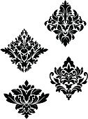 Silk,Scroll Shape,Pattern,Vector,Floral Pattern,Flower,Brocade,Design,Victorian Style,Backgrounds,Swirl,Silhouette,flourishes,Part Of,Baroque Style,Design Element,Ornate,Textile,Elegance,Decoration,Royalty,Tile,Rococo Style,Old,Continuity,Shape,Variation,Symmetry,Old-fashioned,Repetition,Computer Graphic,Backdrop,Revival,Classic,Abstract,Material,Retro Revival,Style,Ilustration,Antique