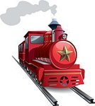 Train,Steam Train,Locomotive,Steam,Star Shape,Iron - Metal,Retro Revival,Old-fashioned,Ilustration,Old,Railroad Track,Isolated,Engine,Boiler,Vector,Construction Industry,Smoke - Physical Structure,Symbol,Illustrations And Vector Art,Technology,Coal,Transportation,Transportation,Headlight,Classic,Fuel and Power Generation,Single Line,Wheel,Concepts And Ideas,Soot,Steel,History,Machinery,Spraying,Travel,Metal