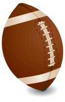 Football,Single Object,Leather,pigskin,Ilustration,Time,Sports And Fitness,Team Sports,Color Image,Brown,Concepts And Ideas