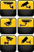 Security Camera,Surveillance,Symbol,Camera - Photographic Equipment,Computer Icon,Big Brother - Orwellian Concept,Home Video Camera,Security,Sign,Security System,24 Hrs,Label,Danger,Protection,Warning Sign,Warning Symbol,At Attention,Vector,Camera Surveillance,Safety,Road Sign,Black Color,Set,Technology,Monitored Area,Restricted Area Sign,Color Image,Security Guard,Illustrations And Vector Art,Emotion,Technology,Stealing,Square,Sound Recording Equipment,Technology Symbols/Metaphors,Crime,Yellow,Road Warning Sign,Ilustration,Message,Vector Icons,Watching