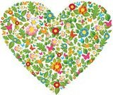 Heart Shape,Leaf,Shape,Green Color,Springtime,Butterfly - Insect,Flower,Concepts And Ideas,Summer,Concepts,Love