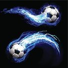 Soccer,Soccer Ball,Lightning,Football,Ball,Wave,Sphere,Igniting,Ilustration,Championship,Illuminated,Speed,Kicking,In A Row,Blue,Tail Light,Splashing,Energy,Black Color,Vector,Success,Motion,Sport,Leisure Games,Playing,Shiny,Design Element,Brightly Lit,Vibrant Color,Play,Leather,Bright,Passing,Design,Heat - Temperature,Winning,Passing