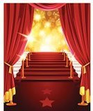 Red Carpet,Award,Curtain,Star Shape,Celebrities,Fame,Gold Colored,Lighting Equipment,Gold,Illuminated,Red,Backgrounds,Lifestyles,Entertainment,Vertical,Bright,Achievement,Vector,Glowing,shinny,Nightlife,Arts And Entertainment,Vector Backgrounds,Ceremony,Copy Space,Cinema,Illustrations And Vector Art,Shiny