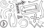 Arrow,Drawing - Art Product,Arrow Symbol,Sketch,Doodle,Curve,Design Element,Ilustration,Vector,Pencil Drawing,Three-dimensional Shape,Single Line,Line Art,Vanishing Point,Diminishing Perspective,Vector Cartoons,Set,Vector Ornaments,hand drawn,Graffiti,Symbol,Direction,Aiming,Sign,Striped,Hand-drawn,Illustrations And Vector Art,Three Dimensional,Pointing,Outline,Vector Icons,Scribble,One Way,Collection,Swirl