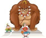 Conflict,Education,School Building,Mischief,Gorilla,Child,Basketball,Cartoon,Ape,Animal,Hat,Teenager,Fighting,King Kong - Monster,Monkey,Ilustration,Lifestyle,Smiling,Chimpanzee,Color Image,Fur,Nature,King Kong,Zoo,Spike Collar,Pet Collar,Leash,Wild Animals,Mammal,Strength,Animals And Pets,Republic of the Congo,Cute,Primate,Large Build,Vector,Power,Teens,Illustrations And Vector Art,Bullying,Spooky,Animals In The Wild,Revenge,Large,Bodyguard,Muscular Build,Little Boys,Wildlife,Colors,Africa