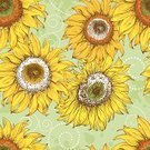 Sunflower,Seamless,Pattern,Flower,Old-fashioned,Single Flower,Retro Revival,Line Art,Drawing - Art Product,Leaf,Backgrounds,Ilustration,Scribble,Vector,Color Image,Pencil Drawing,Summer,Sketch,Yellow,hand drawn,White Background,Vector Florals,Pen And Ink,Nature,Flowers,Square Shape,Design Element,Illustrations And Vector Art,Vector Backgrounds