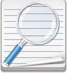 Magnifying Glass,Paper,Lens - Optical Instrument,Searching,Vector,Glass - Material,Reminder,List,Optical Instrument,Web Element,Blank,No People,Design,Isolated,Illustrations And Vector Art,Sheet,Note Pad,Symbol,Education,Equipment,Analyzing,Computer Icon,Curled Up,Diary,Vector Icons,Blue,Striped,Todo List,Design Element,Office Supply,Directly Above,Notebook