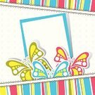 Postcard,Scrapbook,Vector,Illustrations And Vector Art,Holidays And Celebrations,Holiday Backgrounds,Vector Backgrounds,Drawing - Art Product,Birthdays,Pattern,Greeting Card,Ilustration,Greeting,Backgrounds,Butterfly - Insect,Insect