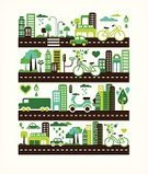 Urban Scene,City,Infographic,Environmental Conservation,Green Color,Cityscape,Symbol,City Life,House,Environment,Town,Bicycle,Car,Abstract,Nature,Tree,Creativity,Backgrounds,Recycling,Vector,Summer,Ilustration,Urban Skyline,Architecture,Leaf,Urban Sprawl,Cute,Greenhouse,Computer Graphic,Organic,Skyscraper,Technology