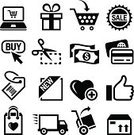 Symbol,Computer Icon,Sale,Icon Set,Truck,Delivering,Car,Business,Buying,Black And White,Retail,New,Gift,Shopping,Internet,Paying,Home Shopping,Shipping,E-commerce,Freight Transportation,Technology,Laptop,Currency,Human Hand,Store,Ilustration,Modern,Basket,Automatic,Information Medium,Interface Icons,Bar Code,Credit Card,Consumerism,Airplane,Scissors,Shopping Cart,White Background,Isolated On White,Arrow Symbol,Computer,Shopaholic,Finance,Communication,Desktop PC,Wireless Technology,Cargo Airplane