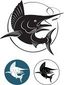Marlin,Fishing,Jumping,Swordfish,Fish,Blue Marlin,Saltwater Fish,Fishing Hook,Tropical Climate,Surf Fishing,Underwater,Black Marlin,Mascot,Sports And Fitness,Sharp,Nature,Wildlife,Computer Icon,Animals And Pets,Vector,Trophy,Sea,Sea Life,Water,Striped Marlin,Animal,Symbol,Water,Animals In The Wild,Atlantic Ocean,James Hook