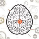 Human Brain,Maze,Creativity,Brainstorming,Puzzle,Confusion,Thinking,Symbol,Learning,Leisure Games,Human Head,Ideas,Lost,Vector,People,Contemplation,Concepts,Inspiration,Imagination,Solution,Business,Profile View,Profile,Education,Mystery,Mental Illness,Mental Health Professional,Ilustration,Computer Graphic,Single Object,Men,The Way Forward,puzzling,Entrance,Inside Of,Light Bulb,Complexity,Discovery,Street,Intelligence,Abstract,Backgrounds,Circle,Outline,Silhouette,Problems,Creation