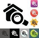 Real Estate,Symbol,Computer Icon,House,Searching,Investment,Icon Set,Residential Structure,Single Object,Magnifying Glass,Architecture And Buildings,Concepts And Ideas,Industry,Isolated,Consumerism,Retail/Service Industry,Vector,Ilustration,Simplicity,Design Element,Clip Art