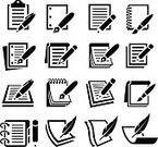 Computer Icon,Pen,Document,Paper,Pencil,Note Pad,Diary,Icon Set,Form,Book,Legal Document,Spiral Notebook,Letter,Contract,Clipboard,Resume,Report,Ring Binder,Black And White,Order Pad,Black Color,Workbook,Page,Vector,Notebook,Feather,Design,Ink,Handbook,Ilustration,School Supplies,Feather,Reference Book,Graph Paper,Heart Shape,Textbook,Mechanical Pencil,Message Pad,Statement Pad,Hardcover Book,Printout,Yearbook,Computer Paper,Composition Notebook,Address Book,Paperboard,Loose Leaf Paper,Star Shape,Scrapbook,Set,Group of Objects,White Background