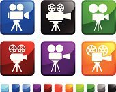 Home Video Camera,Television Camera,Film Reel,Movie Camera,Movie,Film,Camera Film,Film Industry,Viewfinder,Super 8 Video Camera,Lens - Optical Instrument,Tripod,Label,Viewfinder,No People,Bolex Film Camera,Personal Accessory,Icon Set,Design,35mm Film Motion Picture Camera,Expertise,Shutter,Interface Icons,Red,Technology,Professional Occupation,Digital Camera,Camera Accessories,Ilustration,Computer Icon,Electronics Industry,Digital Video Camera,SLR Camera,Handle,Camera - Photographic Equipment,Square Shape,Filming,Vector,Telephoto Lens,Film Set,Square,White Background,Green Color,Blue,Black Color,Electrical Equipment,Innovation