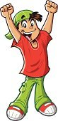 Little Boys,Ecstatic,Arms Raised,Excitement,Cheering,Cartoon,Avatar,Arms Outstretched,Mascot,Fun,Success,Smiling,Victory,Sports Symbols/Metaphors,Confidence,Vector,Actions,Characters,Energy,Winning,Attitude,Scoring,People,Celebration,Men,Sports Team,Clip Art,Sports And Fitness,Ilustration,Art