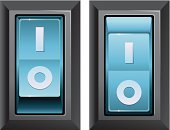 Switch,Off,shutdown,Computer Icon,Symbol,toggle,Interface Icons,on-off,Stop,Electricity,Connection,Power,click-clack,Isolated,Vector Icons,Control,Technology,Illustrations And Vector Art,Vector,Turning,Pushing,Moving Up