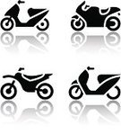 Motorcycle,Symbol,Computer Icon,Motocross,Motor Scooter,Push Scooter,Sign,Engine,Silhouette,Vector,Stunt Bike,Cycle,Cycling,Drive,Off-Road Vehicle,Biker,Motorcycle Racing,Black Color,Series,Motorsport,Bicycle,Transportation,Sidecar Motocross Racing,Mode of Transport,Riding,Street,Collection,Wheel,White Background,Set,Sports Race,Reflection,Image,Clip Art,Land Vehicle,Speed,Badge,Single Object,Motor Vehicle,Isolated,Extreme Sports,Speed Sport