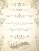 Dividing,Ornate,Scroll Shape,Corner,Banner,Placard,Angle,Swirl,Paisley,Old-fashioned,flourishes,Growth,Elegance,Curve,Engraved Image,Floral Pattern,No People,Design Element,Vector,Decoration,Art Nouveau,filigree,Part Of,Illustrations And Vector Art,Intricacy,Abstract,Image Created 2000s,Rule Line,Beautiful,Squiggle,Antique,Ilustration,Cross Hatching,Spiral,Clip Art,Vector Backgrounds,Vector Florals,Leaf,Acanthus Pattern,Vector Ornaments,Engraving
